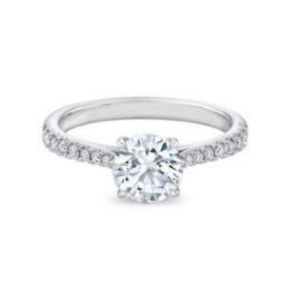 Jewelry - 1.85 carats brilliant cut CVD diamond Wedding ring